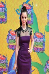 Vanessa Marano in Black Halo Dress - Nickelodeon Kids' Choice Awards 2014