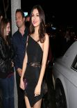 Victoria Justice Night Out Style - Bootsy Bellows in Los Angeles, March 2014