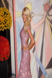Victoria Silvstedt - Rose Ball at Sporting Monte-Carlo on March 2014