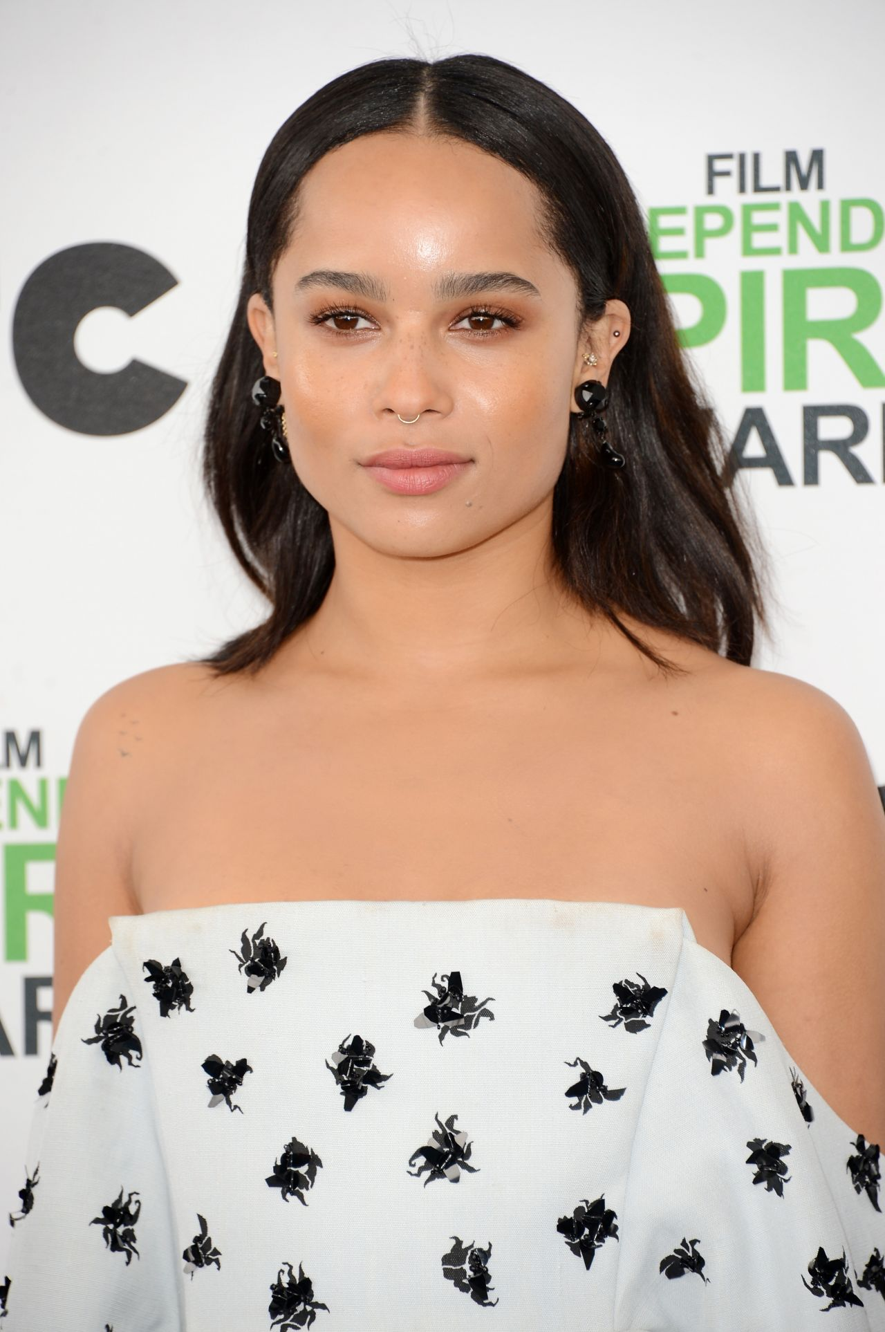 Zoe Kravitz in Balenciaga Ensemble – 2014 Film Independent Spirit Awards
