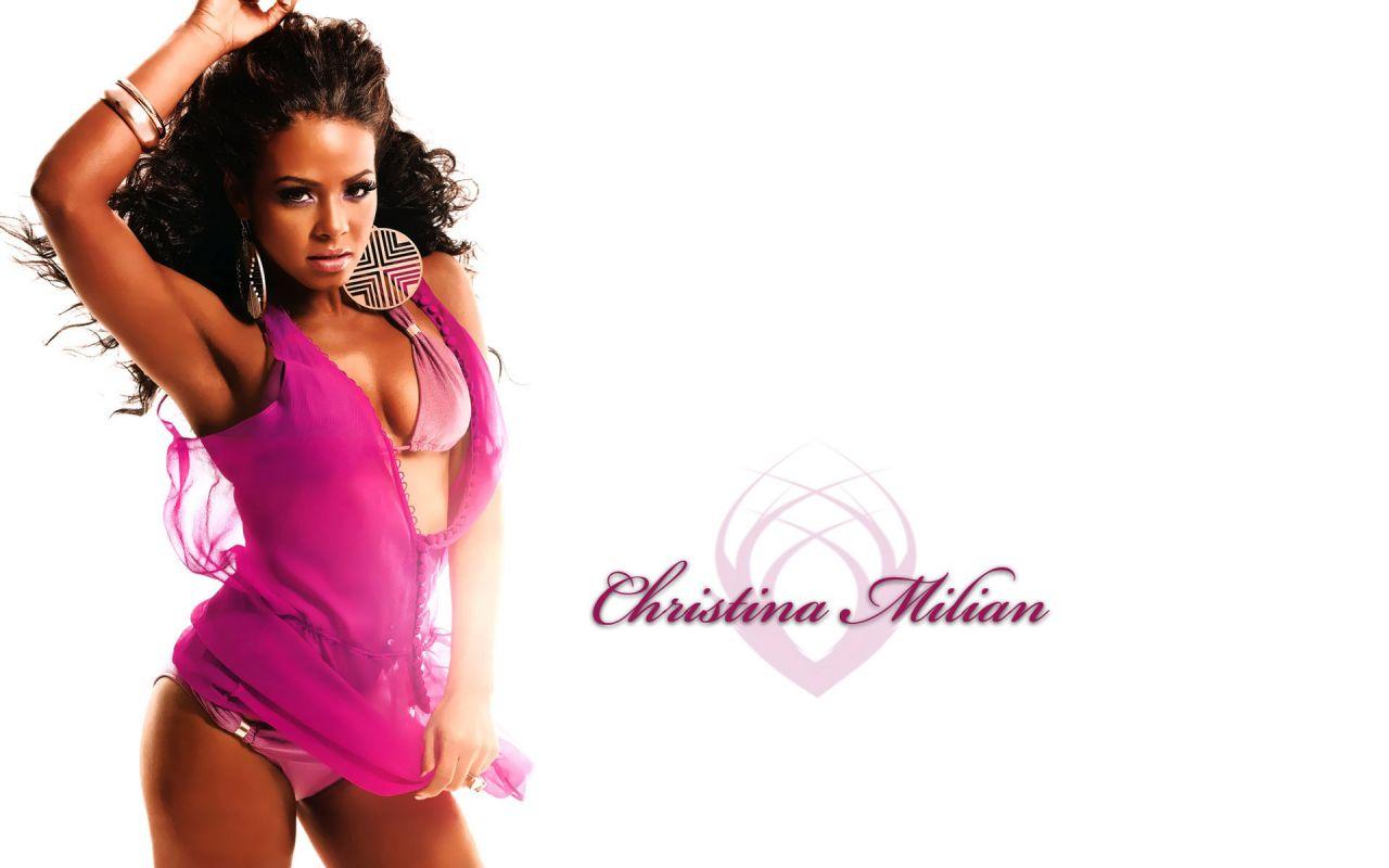 Christina Milian Hot Widescreen Wallpapers 13