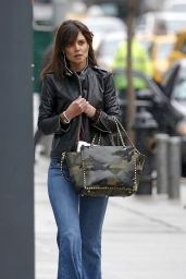 Katie Holmes Street Style - Out in New York City - April 2014