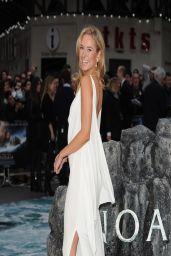 Kimberley Garner - White Dress