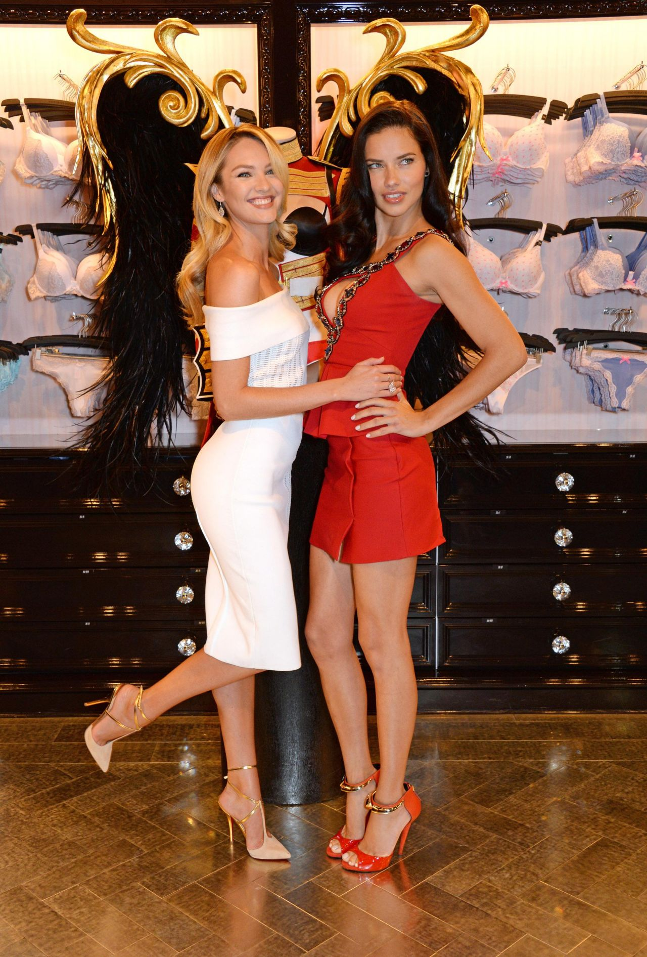 Adriana Lima and Candice Swanepoel - Victoria