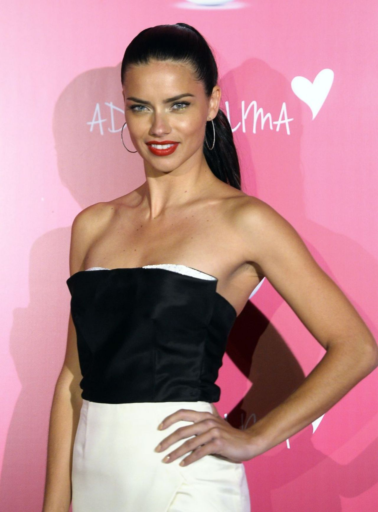 Adriana Lima in Istanbul - Promoting Veet Naturals - April 2014
