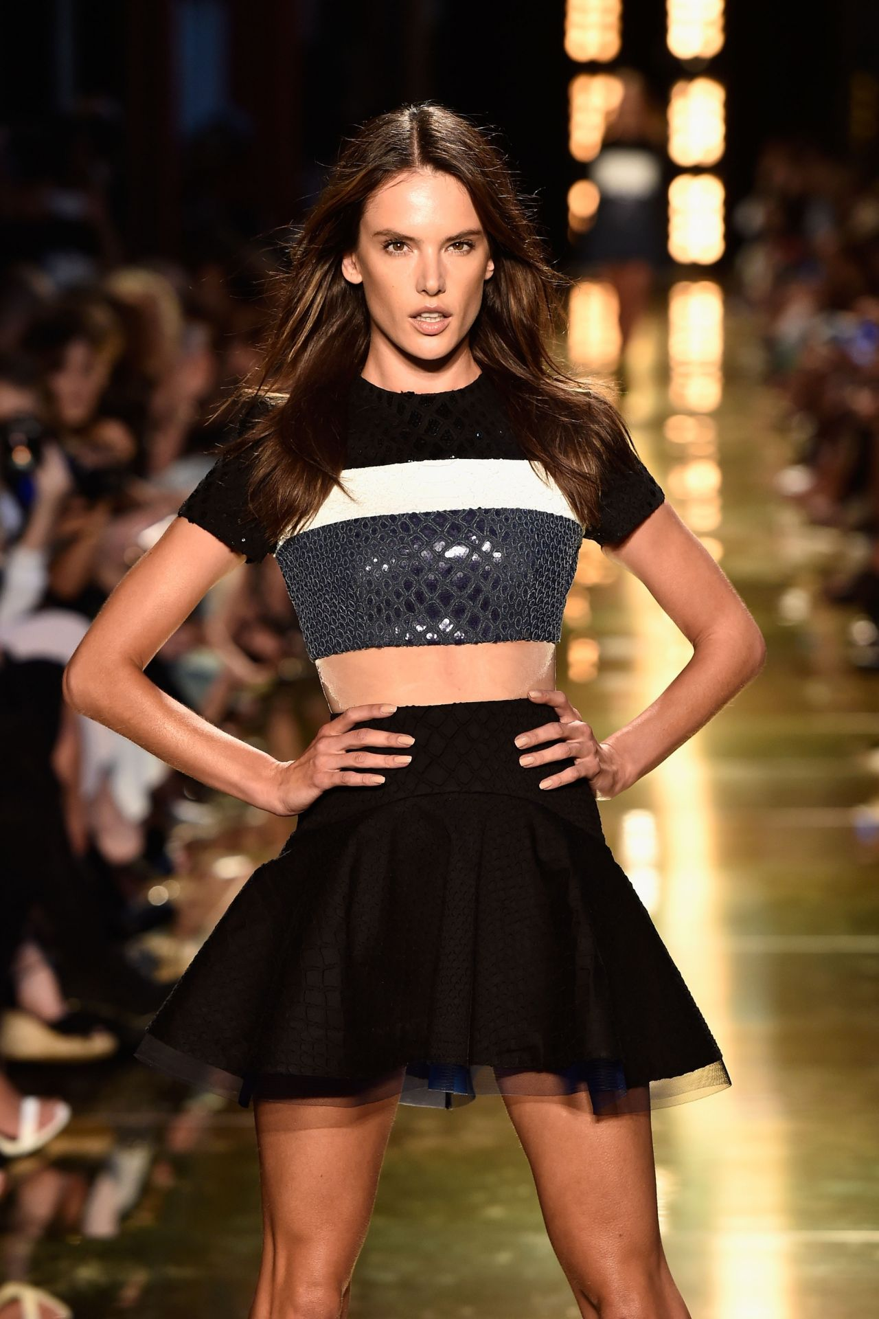 Alessandra Ambrosio - Alex Perry Fashion Show - Mercedes-Benz Fashion Week Australia, April 2014