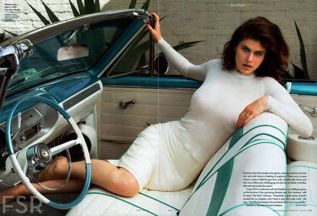 Alexandra Daddario - Vanity Fair Magazine May 2014 Issue