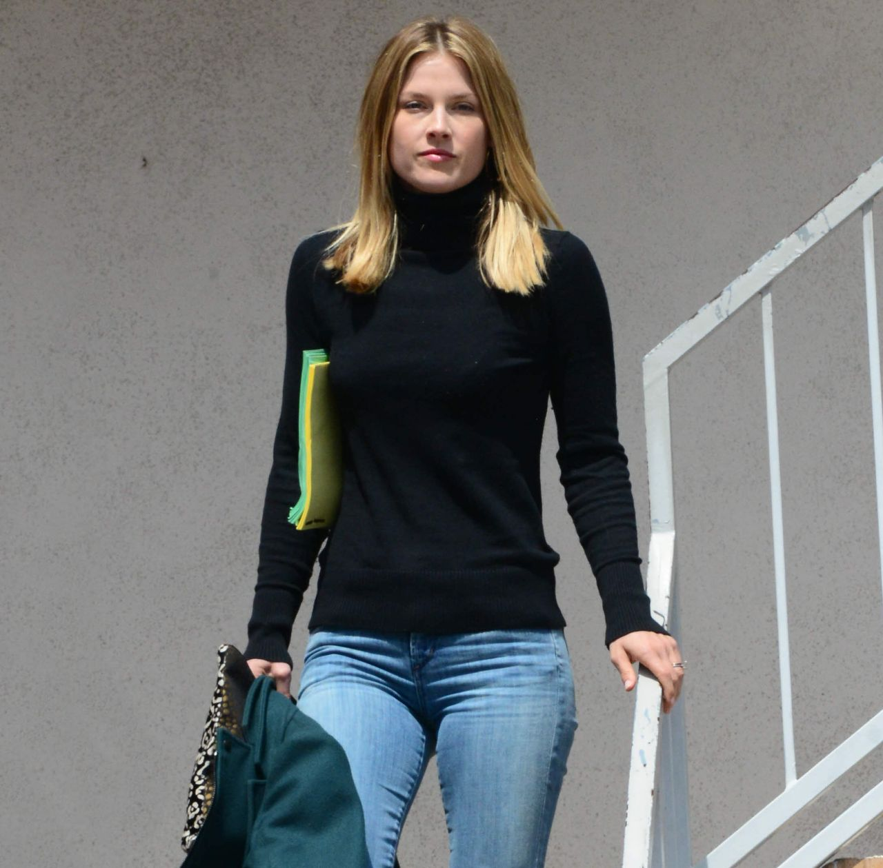 Ali Larter in Jeans Out in Los Angeles - April 2014