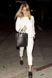 Alice Eve - Leaving Restaurant Matsuhisa in Beverly Hills - April 2014