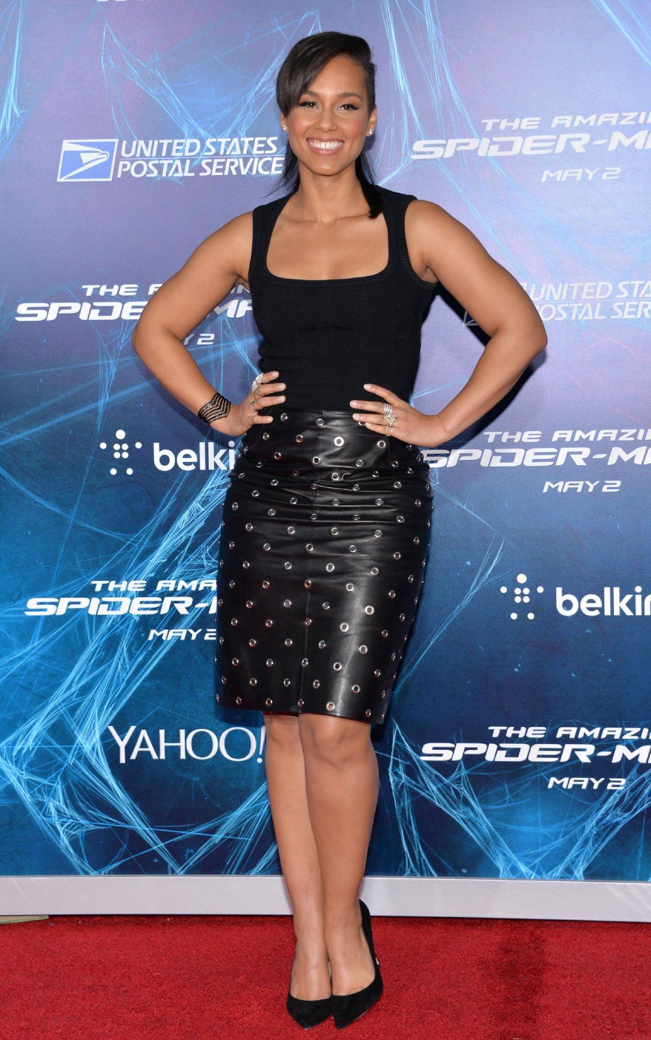 Alicia Keys - 'The Amazing Spider-Man 2' Premiere in New York Alicia Keys New York