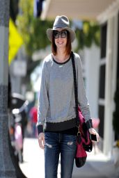 Alyson Hannigan out in Santa Monica - April 2014