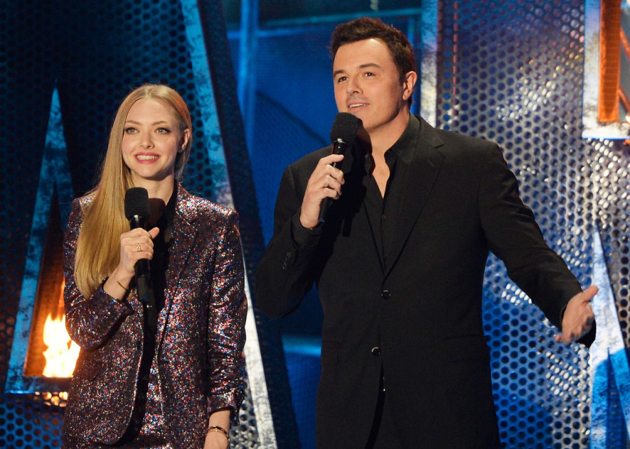Amanda Seyfried - 2014 MTV Movie Awards in Los Angeles