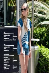Amanda Seyfried Has Amazing Legs - Out in Los Angeles - April 2014