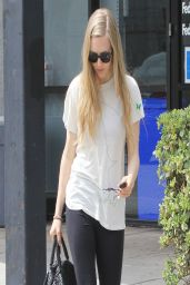 Amanda Seyfried in Leggings - Out in Los Feliz - April 2014