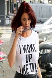 Amy Childs Casual Style - Shops at Her Boutique in Essex - April 2014