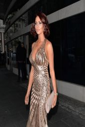 Amy Childs in Hot Dress - Soldiering On Awards in London (2014)