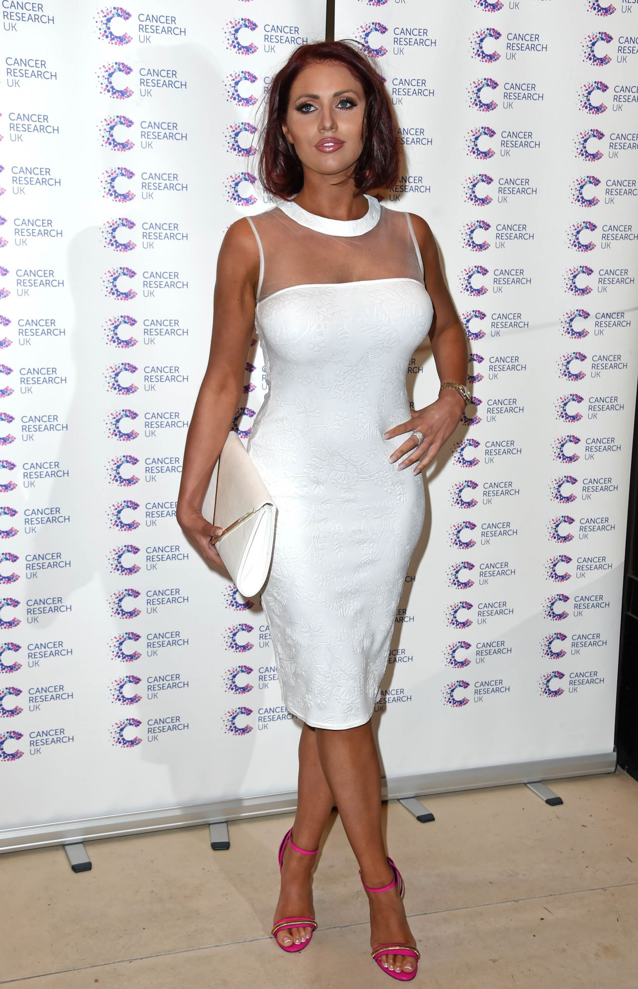 Amy Childs James Jog On To Cancer Event In London