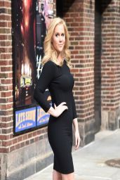 Amy Schumer - After David Letterman Show in New York City – April 2014
