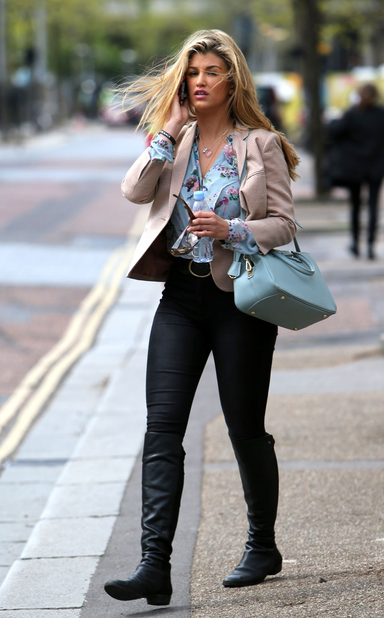 Amy Willerton Casual Style - Leaving The Itv London -3632