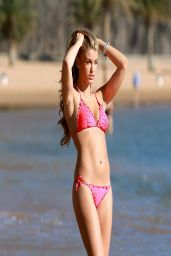 Amy Willerton in a Bikini - Beach in Tenerife - April 2014