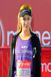 Amy Willerton - Virgin Money London Marathon - April 2014