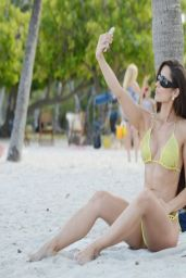 Anais Zanotti Bikini Candids - Miami, April 2014