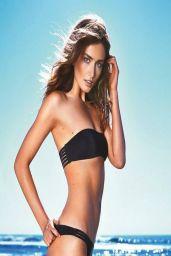 Andreea Diaconu in a Bikini - Etam Swimwear Spring 2014