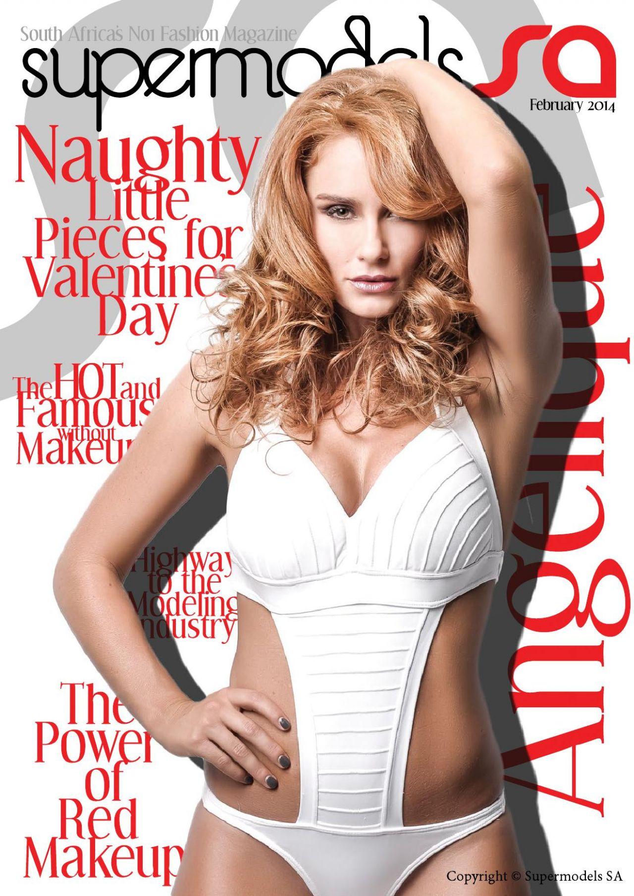 Angelique Gerber – Supermodels SA Issue 30 – February 2014