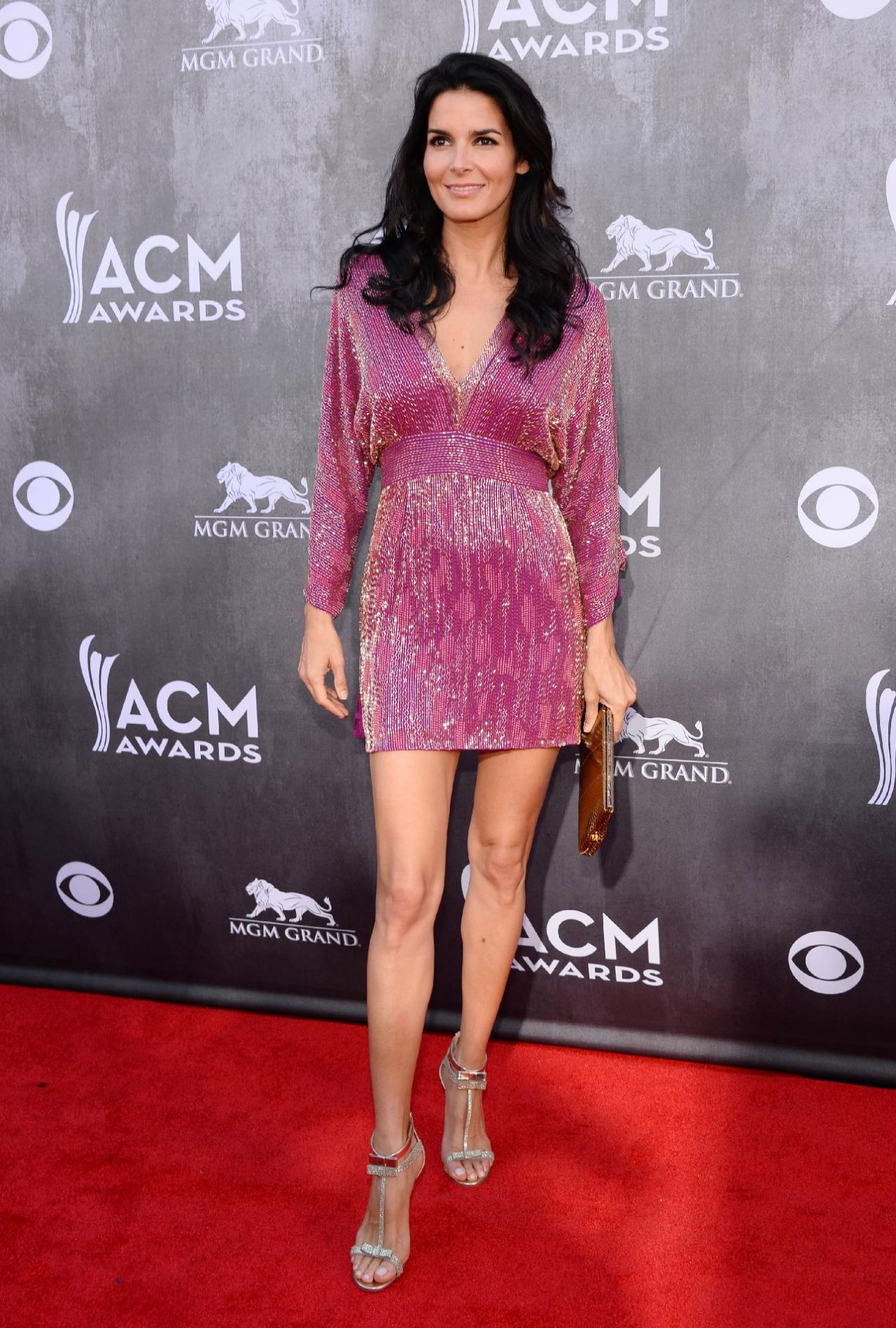 Angie Harmon - 2014 Academy of Country Music Awards