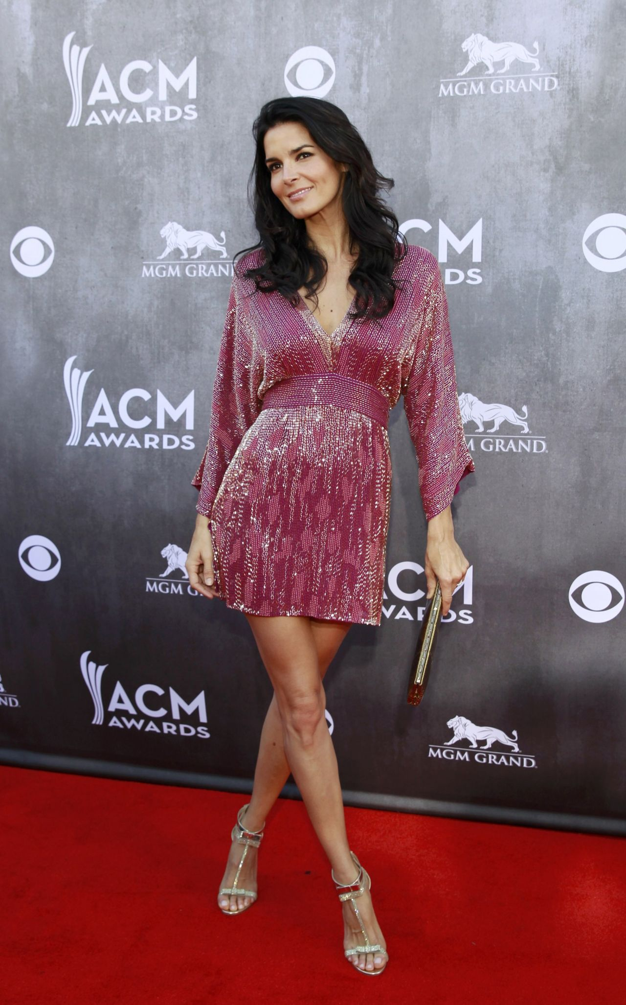 angie harmon 2014 academy of country music awards