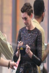Anne Hathaway - at Good Morning America in New York City - April 2014