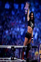 April Mendez (AJ Lee) - WrestleMania XXX - April 2014
