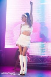 Ariana Grande Performs at the 25th Anniversary of White Party Palm Springs