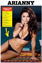 Arianny Celeste - Muscle & Fitness Magazine May 2014 Issue