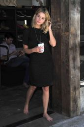 Ashley Benson Go Without Shoes for Toms (2014)
