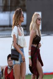 Ashley Benson & Shay Mitchell - 2014 Coachella Valley Music & Arts Festival in Indio