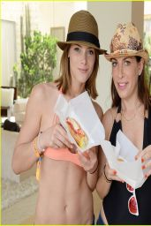 Ashley Greene - Abbot + Main Desert Estate Pool Party at Coachella 2014