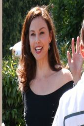 Ashley Judd on the Set of