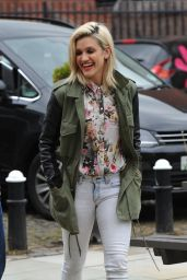 Ashley Roberts - Key 103 Radio Station in Manchester - April 2014