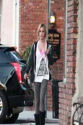 Ashley Tisdale - Heads to Yoga Class in Studio City - April 2014