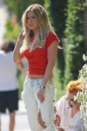 Ashley Tisdale Photoshoot Candids - Los Angeles, April 2014