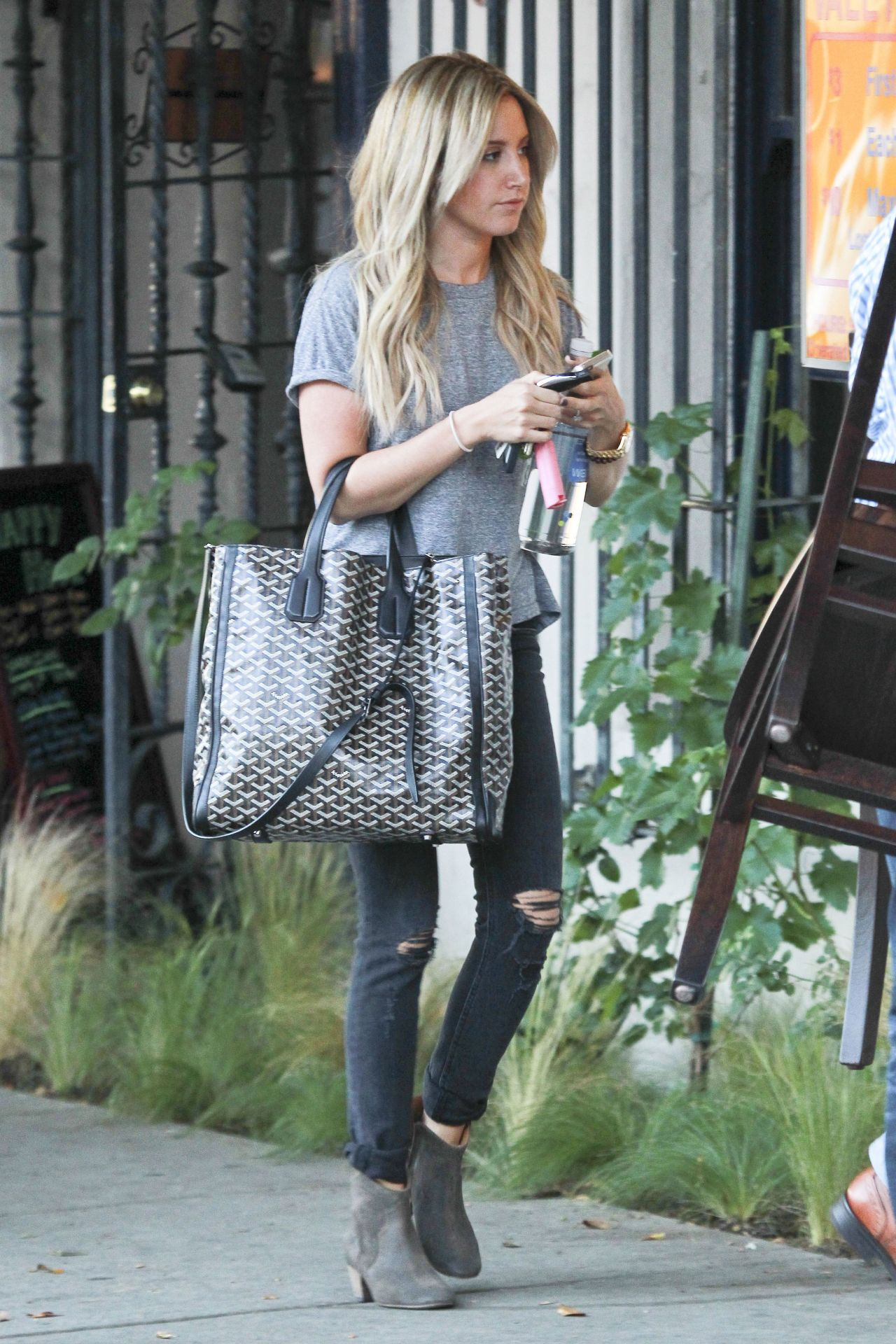 Ashley Tisdale Street Style Out In West Hollywood