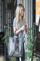 Ashley Tisdale Street Style - Out in West Hollywood - April 2014