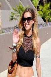 Audrina Patridge at the Hard Rock Hotel in Palm Springs - April 2014