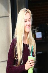 Ava Sambora Gives Wearing Spandex - Out in Calabasas - April 2014