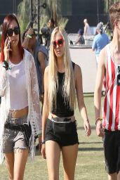 Ava Sambora - Leggy at Coachella Festival 2014 in Indio