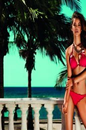 Barbara Palvin Bikini Photoshoot - Twin-Set Beachwear Spring/Summer 2014