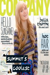 Bella Thorne - Company Magazine (UK) May 2014 Issue