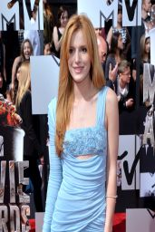 Bella Thorne in Versace Cocktail Dress - 2014 MTV Movie Awards in LA