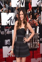 Bethany Mota on Red Carpet - 2014 MTV Movie Awards Los Angeles